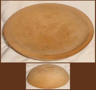 Vintage Wooden Munising Bowl 9