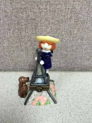 Madeline Eiffel Tower Hinged Trinket Box By Midwest Of Cannon Falls photo