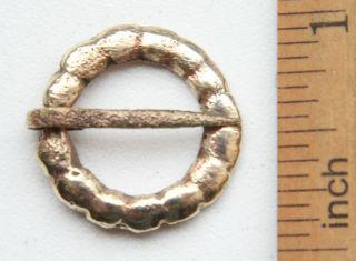 Ancient Old Ornament Bronze Fibula Brooch (dec04) photo