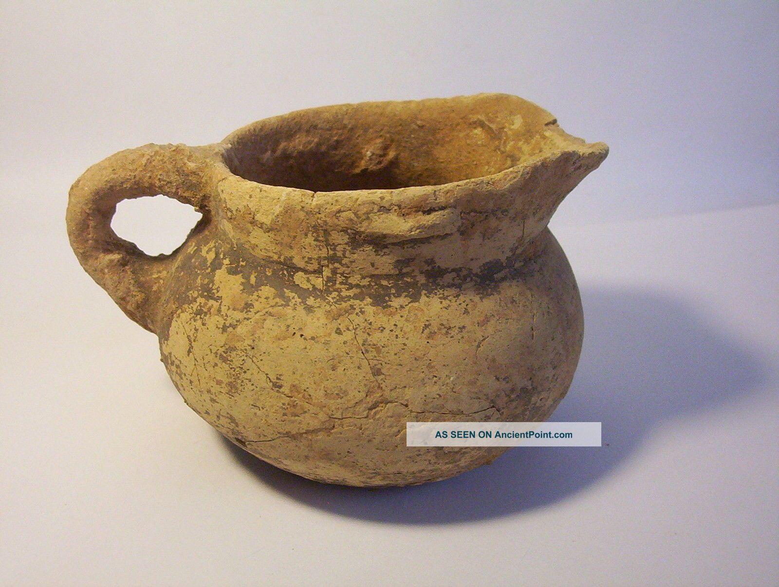 Ancient Greek Pottery Jug 4th - 5th Century B.  C. Greek photo