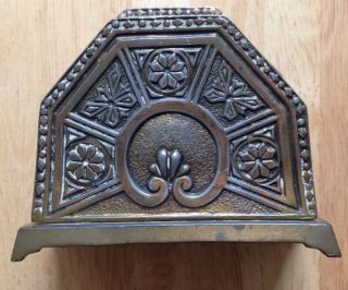 1910s 1920s Jennings Brothers Brass Letter Holder,  Jb 2881,  Arts And Crafts photo