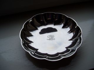 Antique Vintage Tiffany & Co 925 - 1000 Solid Sterling Silver Bowl - 145g photo