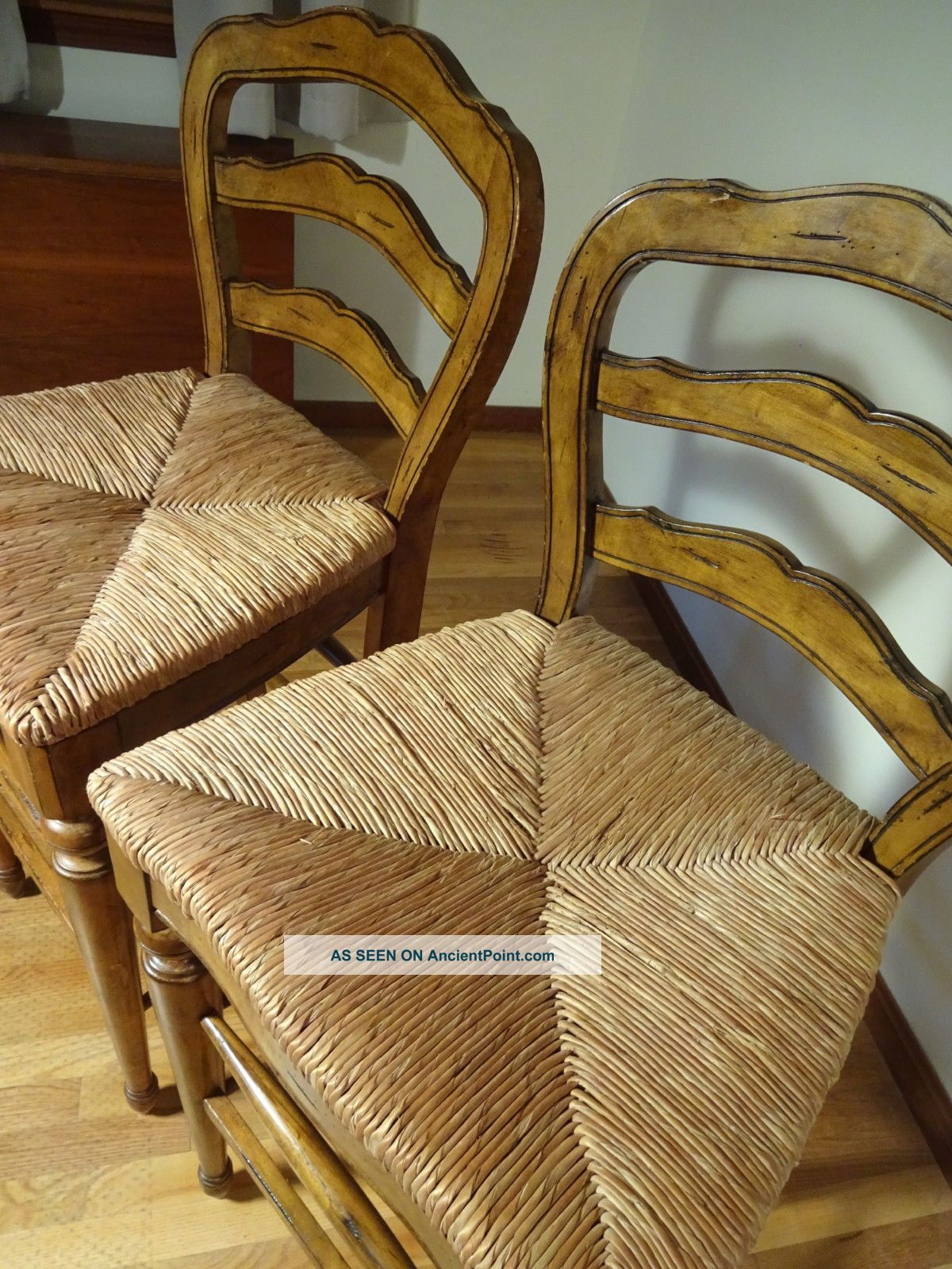 Very Impressive portraiture of French Country Counter Bar Stools Rush Seats Avignon Provincial  with #3D2311 color and 1200x1600 pixels