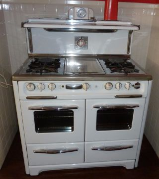 Pristine 1950 ' S Wedgewood Gas Stove photo