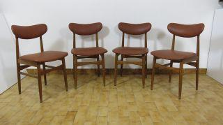 Nr.  4 Of 1960's Vintage Chairs In Hans Wegner Danish Style - Ponti Buffa Era photo