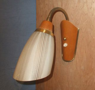 Vintage 1950s Kitsch Wall Light photo