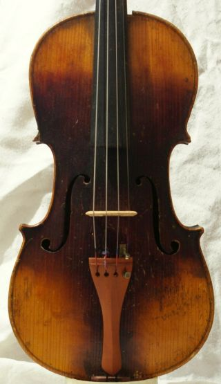 Antique Violin Stanislav Brazda Plzen photo