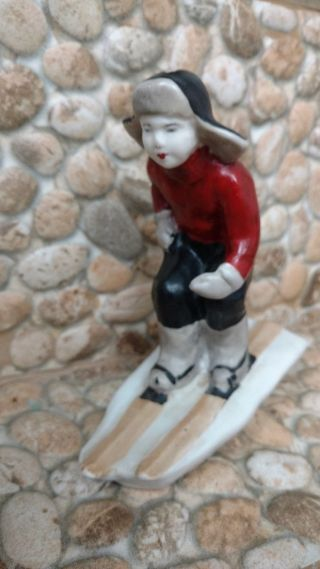 1940 - S Rare Old Ussr Russian Soviet Propaganda Porcelain Figurine 100. photo