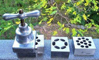 1924 Applebaum Pharmaceutical Suppository Machine W/3 Molds photo