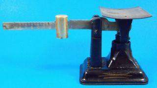 Antique Cast Iron Fairbanks Scale Marked U.  S.  Postal Dept.  Small Size 8 Oz Wow photo
