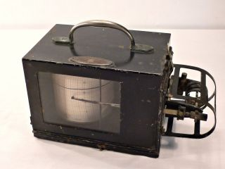 Antique Negretti & Zambra Of London Thermograph photo