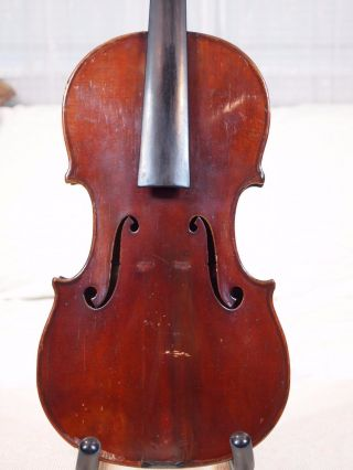 Fine Old Antique American Violin Nicholas Heinz Brooklyn York Joseph Settin photo