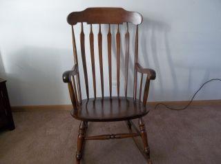 Nichols & Stone Co.  Rocking Chair Gardner,  Mass. photo