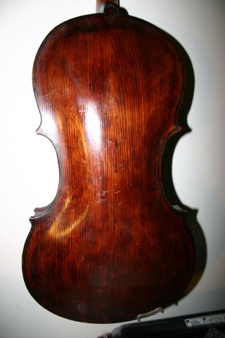 Interesting Old Antique Italian Argentine Viola1942 Wood Interesting (violin) photo