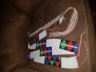 Zulu Beaded Belts photo