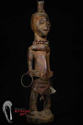 Discover African Art Songye Power Figure Drc photo