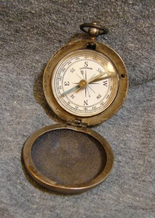Vintage Germany Pocket Compass German photo