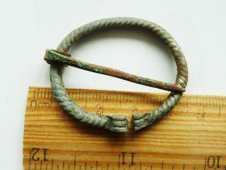 Ancient Bronze Fibula (k201). photo
