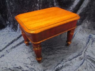 Mid To Late 19th Century Apprentice Piece Small Mahogany Dining Table photo