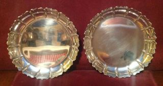 Bvlgari Bulgari Sterling Silver Dishes Or Coasters photo