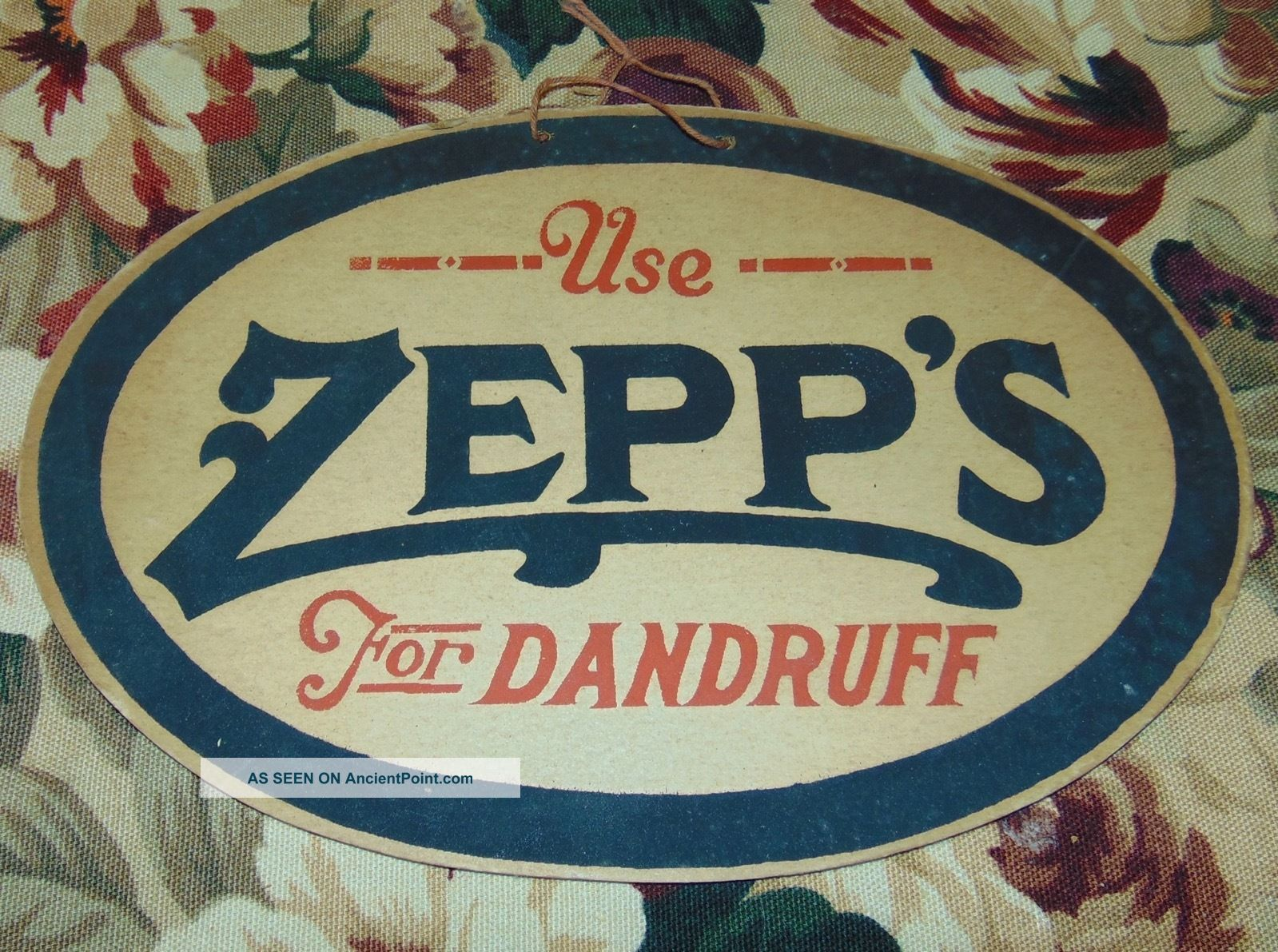 ... Sign Zepp S For Dandruff Barber Shop Boston Barber Chairs photo