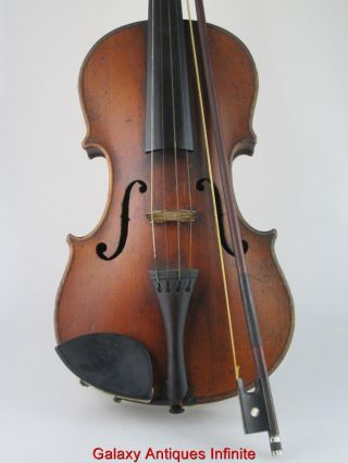 Antique 19th Century Violin Circa 1850 photo