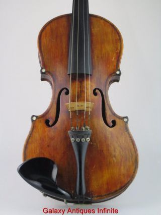 Antique 19th Century Violin Circa 1890 photo