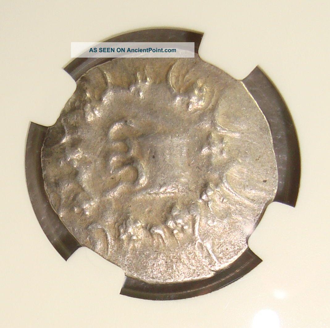133 - 67 Bc Ionia,  Ephesus Ancient Greek Silver Cistophorus Tetradrachm Ngc Ch Vf Greek photo