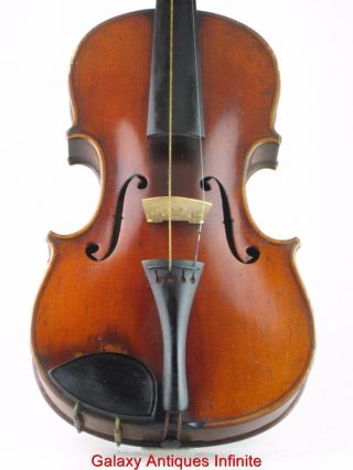 Antique Violin Le Recherche Circa 1900 photo