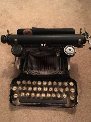 Yiddish Typewriter,  Manufactured By Corona 1925,  Collector ' S Item photo