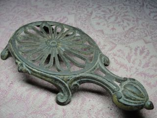 Antique Garron No.  5 Cast Iron Trivet Kitchen Sad Iron photo