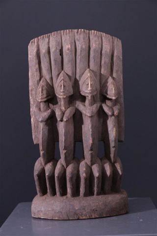 Mali: Tribal Old African Statue From The Dogon People. photo