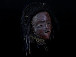 Mwana Pwevo Mask - Luvale - Northwestern Zambia - - Hai  photo