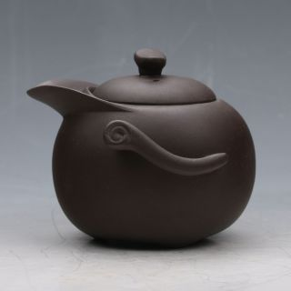 Chinese Yixing Purple Sand (zisha)handwork Duck Mouth Shape Teapot G026z643 photo