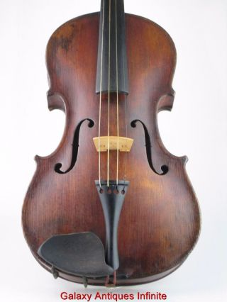 Antique 19th Century Violin Circa 1880 photo