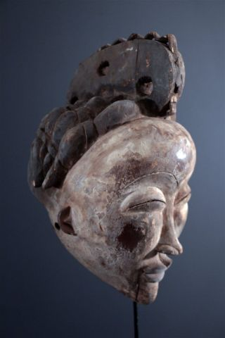 Nigeria : Old Tribal African - Igbo - Mask. photo