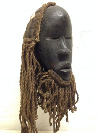 Liberia: Tribal African Mask From The Dan People. photo