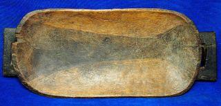Old Ugqoko Bhanganomo Zulu Meat Serving Platter African Tribal Art Artefact photo
