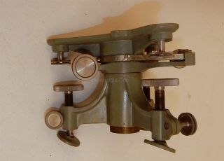 Kern & Co.  Swiss Surveying Leveler W/accessories Circa 1915 photo