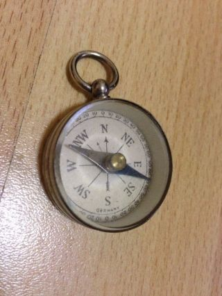 Vintage German Pocket Compass photo
