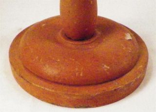 Antique Victorian Hat Stand Wood Wooden Tall 18in.  Millinery Store Display 1 photo