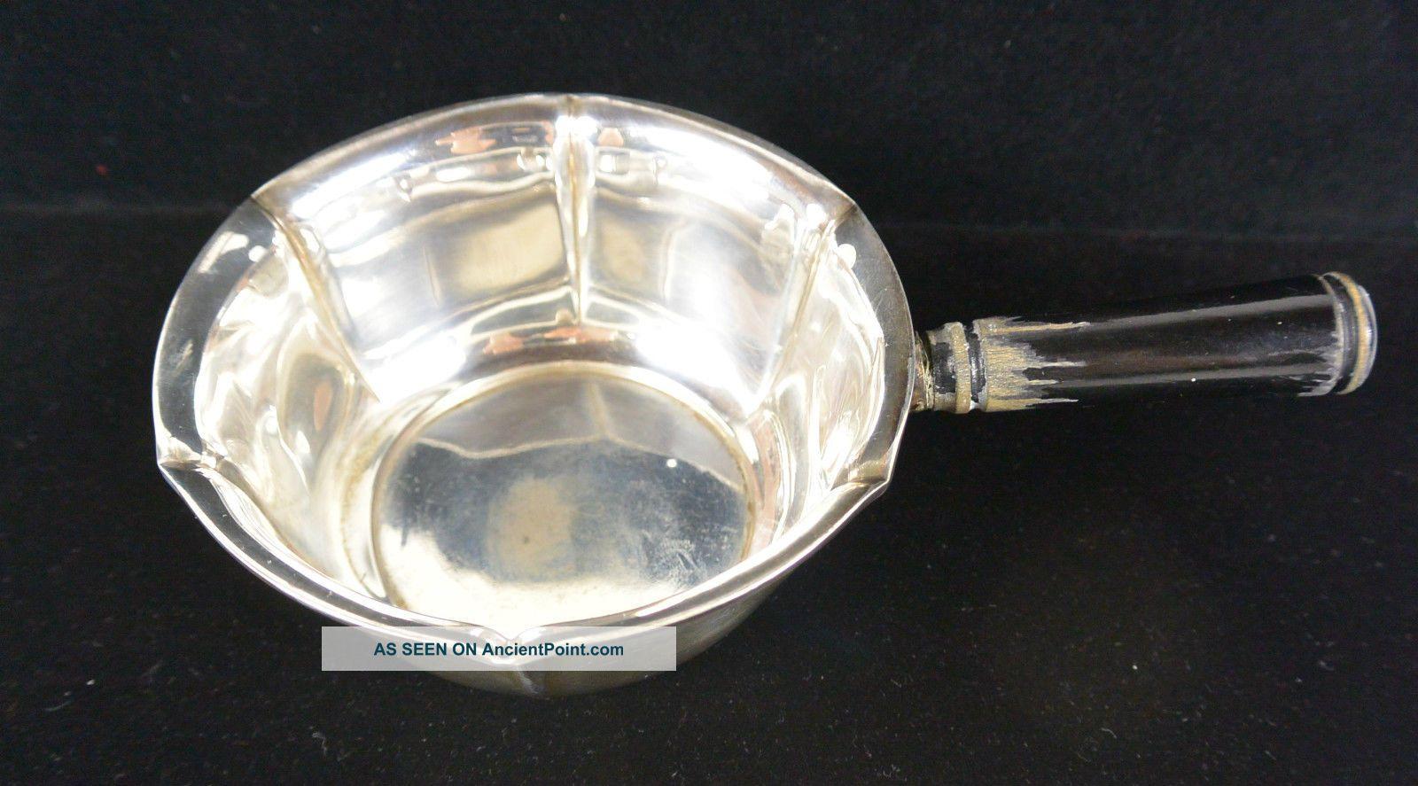 Rare Vintage Johannes Siggaard Danish Sterling Silver 925 Porringer Dish Bowl Bowls photo