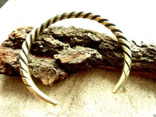 Ancient Viking Bronze Bracelet (3166). photo