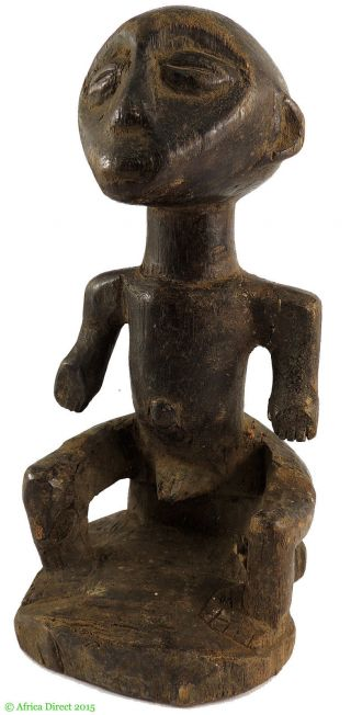 Lega Seated Male Bwami Society Congo African Art Was $79 photo