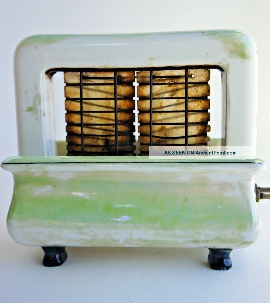Art Deco Onyxide Toastrite Porcelain Electric Toaster Rare Collectible Toasters photo
