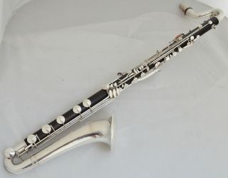 Unique 1929 Pristine Bass Clarinet Buffet Crampon Low C - Complete Restored photo