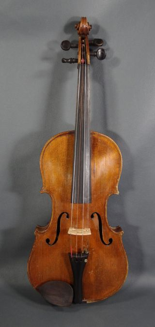 Antique German 4/4 Violin Fiddle Soloist Master Instrument Antonius Stradivarius photo
