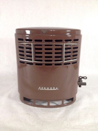 Antique Sears Oval Gas Heater Kenmore photo