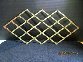 Antique Large Italian Expandable Brass & Copper Trivet photo