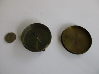 Vintage Compass Brass photo